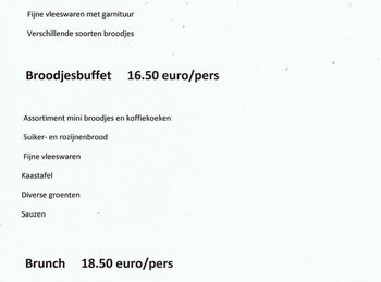 Buffetten - koud buffet